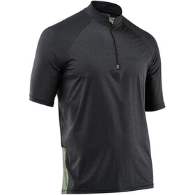 Northwave Trail MTB SS Jersey Herren dark grey melange/green